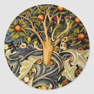 Pulsaciones de corriente de William Morris del Etiquetas Redondas