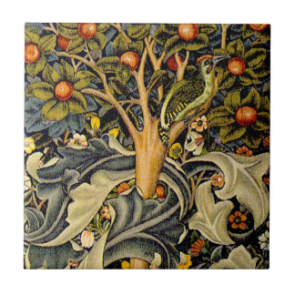 Pulsaciones de corriente de William Morris del vin Azulejos Cerámicos