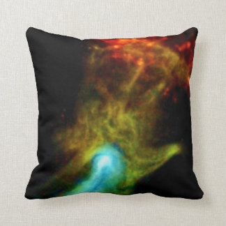 Pulsar B1509 - Hand of God Throw Pillows
