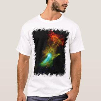Pulsar B1509 - Hand of God X-Ray Nebula NASA Photo T-Shirt