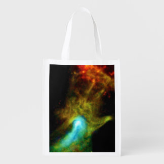 Pulsar B1509 - Hand of God Grocery Bags