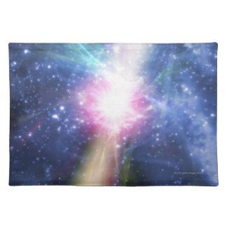 Pulsar Cloth Placemat