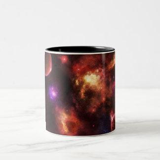 Pulsar Nebula Two-Tone Coffee Mug