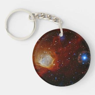 Pulsar SXP 1062 Star Space Astronomy Double-Sided Round Acrylic Keychain