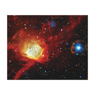 Pulsar SXP 1062 Supernova Remnant NASA Space Photo Canvas Print