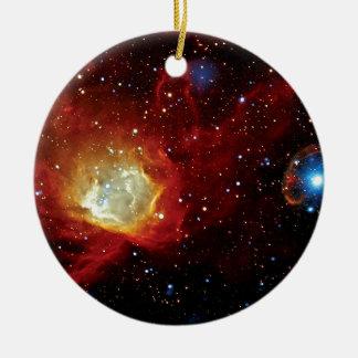 Pulsar SXP 1062 Supernova Remnant NASA Space Photo Ceramic Ornament