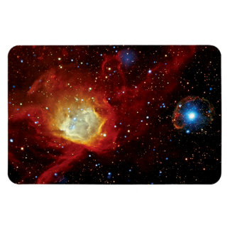 Pulsar SXP 1062 Supernova Remnant NASA Space Photo Magnet
