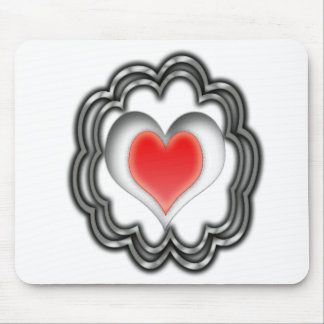 Pulsating Heart Mouse Pad