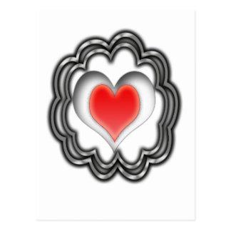 PULSATING HEART POSTCARD