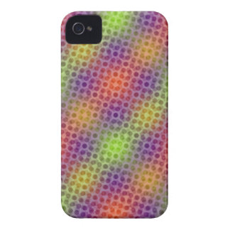 Pulsating neon pattern iPhone 4 Case-Mate case