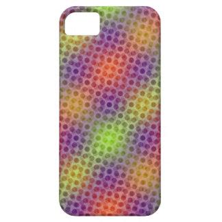 Pulsating neon pattern iPhone SE/5/5s case
