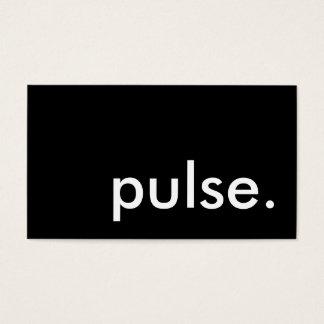 pulse. business card