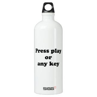 Pulse el juego o cualquier tecla