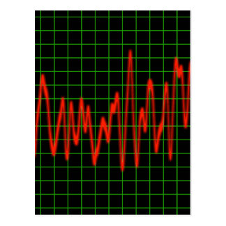 Pulse - Heart Monitor Postcard