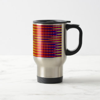 Pulse in bright abstract colours. mug