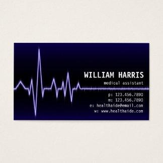 Pulse Meter - Blue Business Card