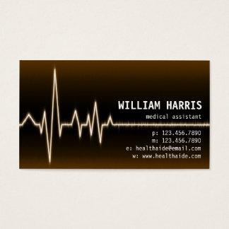 Pulse Meter - Orange Business Card