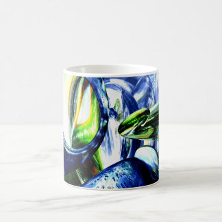 Pulse of Life Abstract Mug