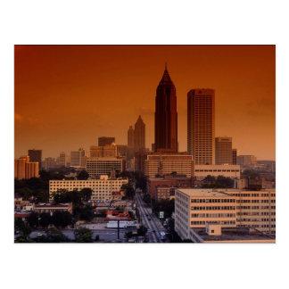 Pulse of the city, Atlanta, Georgia, U.S.A. Postcards