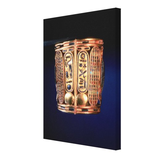 Pulsera con el cartouche de Psusennes I Impresion De Lienzo