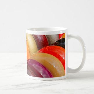 pulseras coloridas taza de café