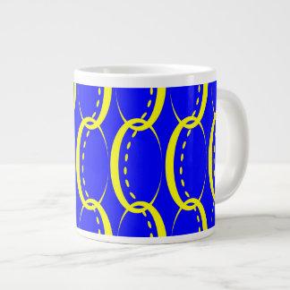 Pulseras de oro taza de café grande