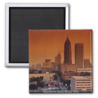 Pulso de la ciudad, Atlanta, Georgia, los E.E.U.U. Imán Cuadrado