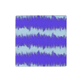 Pulso del azul de dos tonos imán de piedra