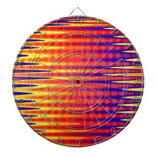 Pulso en colores abstractos brillantes