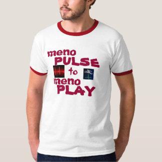 pulso para jugar la camiseta playeras