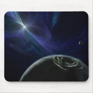 Pulsor and Planets in Orbit Mousepad Mouse Pads