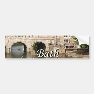 Pulteney Bridge, Avon River,Bath, England 2 Bumper Sticker
