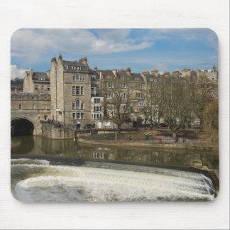 Pulteney Bridge, Avon River,Bath, England Mouse Pad