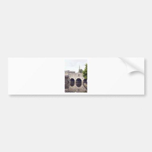 pulteney bridge bumper sticker