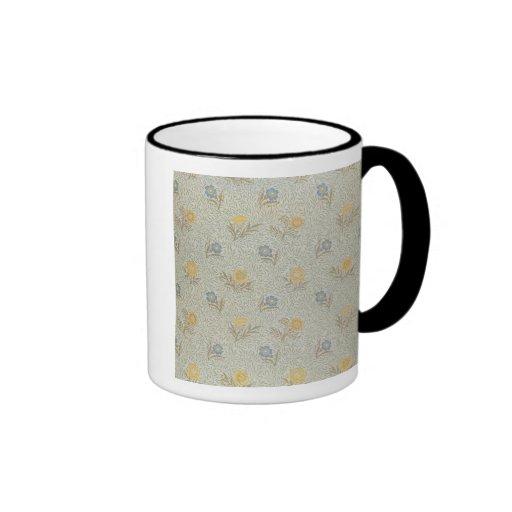 """Pulverizó"" el diseño (la materia textil) Tazas De Café"