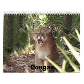 Puma 001, puma calendario de pared
