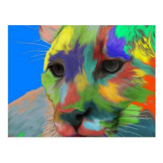 Puma (brushed) postcard