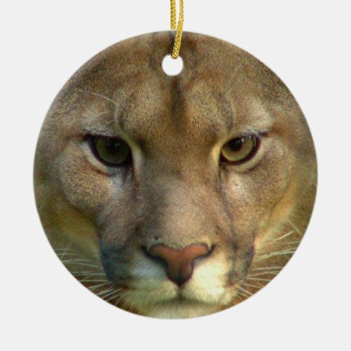 Puma Cat Ornament