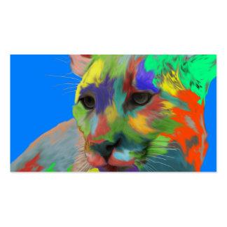 Puma (cepillado) plantilla de tarjeta de negocio