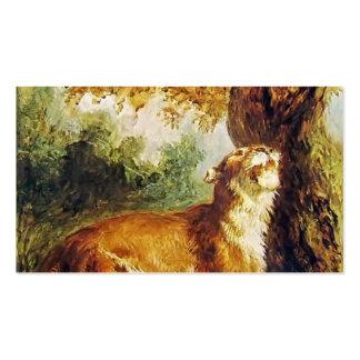 Puma de Eugene Delacroix- (presa de observación de Tarjeta Personal