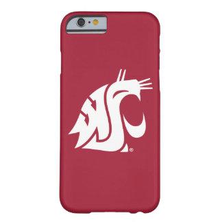 Puma del estado de Washington - blanco Funda De iPhone 6 Barely There