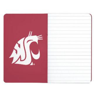 Puma del estado de Washington Cuaderno Grapado
