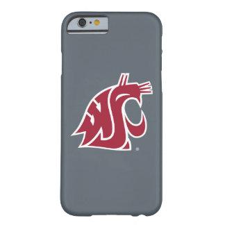 Puma del estado de Washington - rojo Funda Para iPhone 6 Barely There