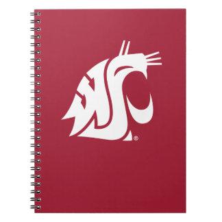 Puma del estado de Washington Spiral Notebooks