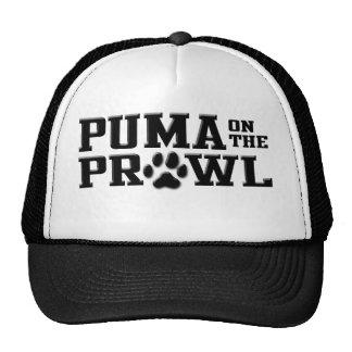 Puma en el vagabundeo gorros