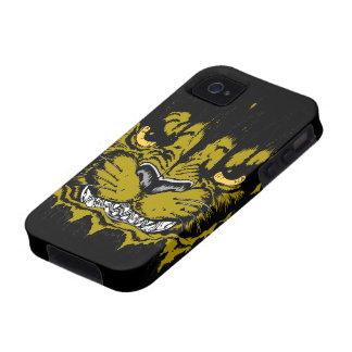 Puma enojado vibe iPhone 4 fundas