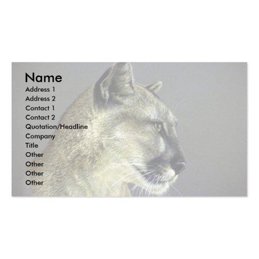 Puma (estudio principal) tarjeta personal