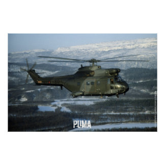 Puma helicopter posters