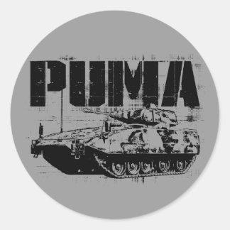 Puma (IFV) Classic Round Sticker