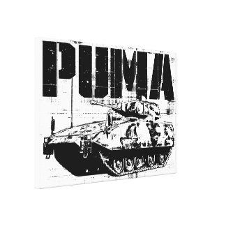 Puma (IFV) Gallery Wrapped Canvas